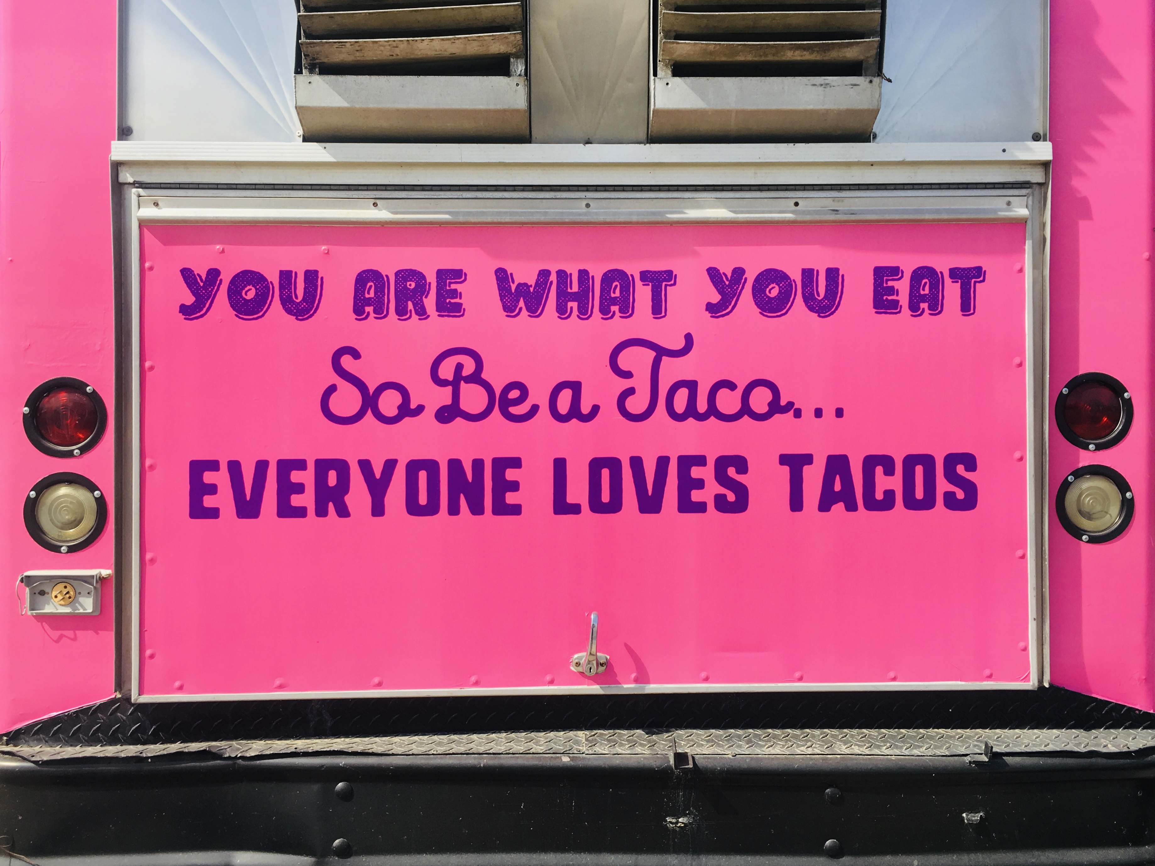 Tim Lang taco truck