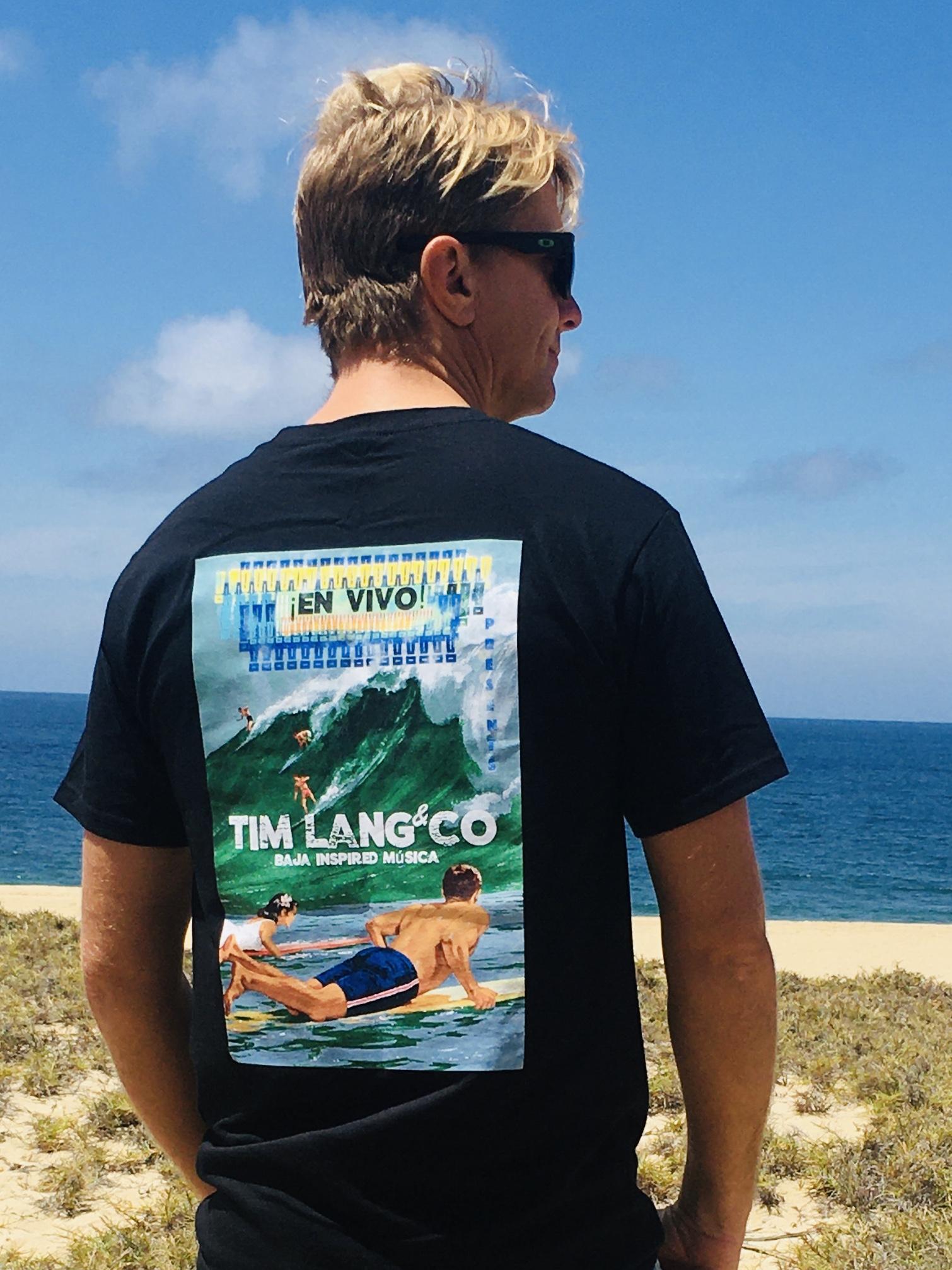 Tim Lang Life at Sea Shirt Back